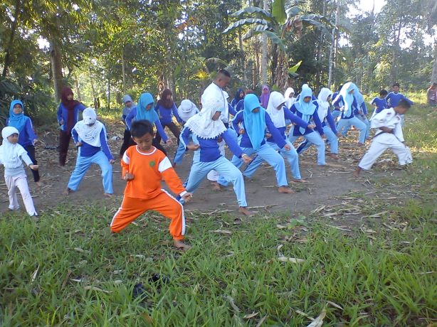 Foto Kegiatan Ekstra karate